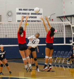 Volleyball – Springstead at Central 9/14