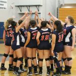 Springstead High School Girls Junior Varsity Volleyball beat Central High School 2-0