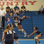 Springstead High School Girls Varsity Volleyball falls to Land O Lakes High School 3-0