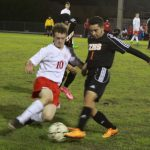 Springstead High School Boys Varsity Soccer beat Zephyrhills High School 2-1