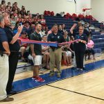 Gym Ribbon Cutting
