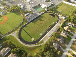 Track and Football Stadium