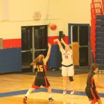 Springstead High School Girls Varsity Basketball beat Hudson High School 58-14