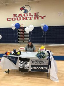 Kayla Cruz Signs with Univ. of North Florida