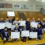 Eagle Wrestlers Capture Record 32nd District Title