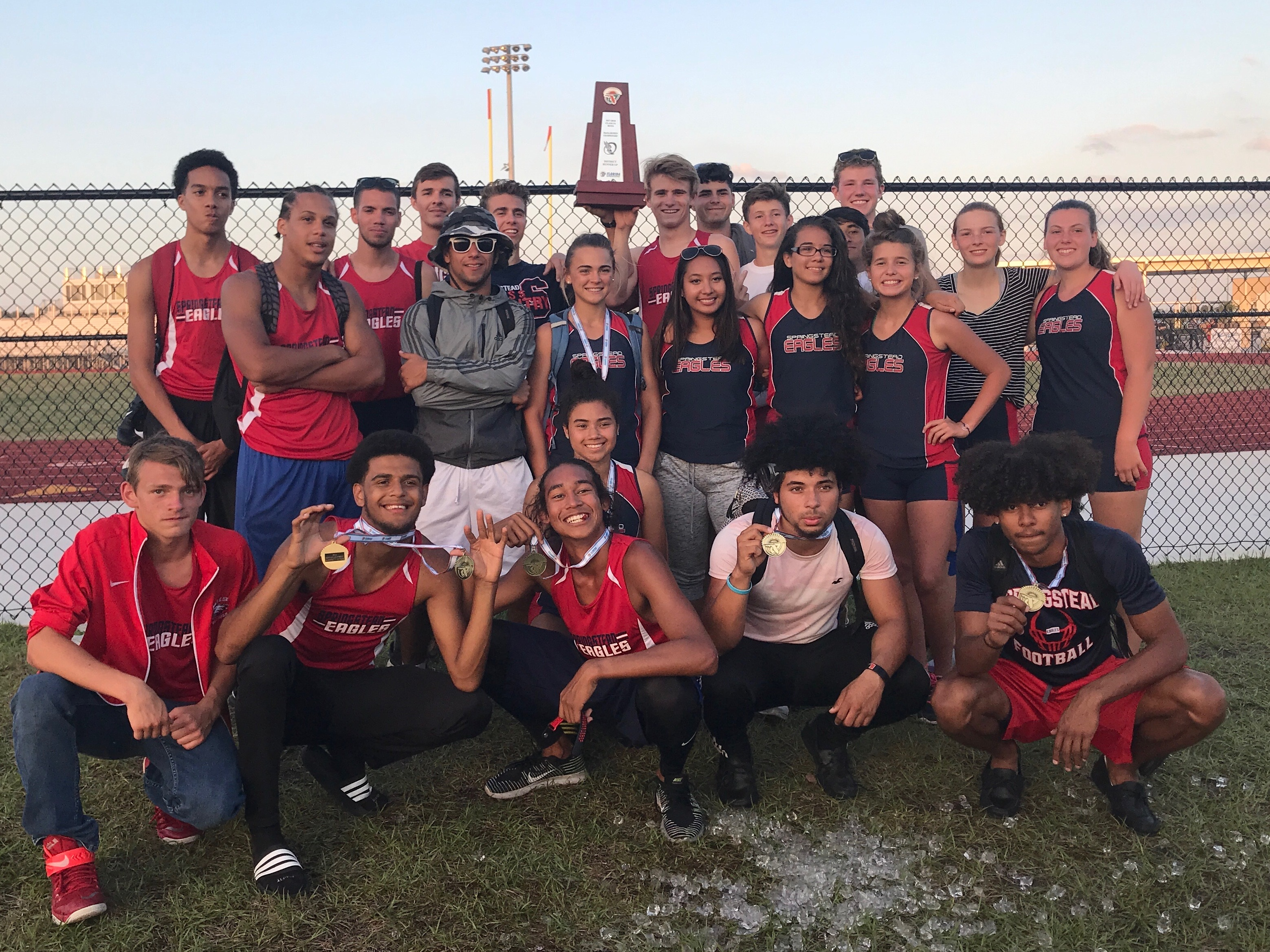 Boys Track & Field Take District Runner-Up, Advance in 10 Events