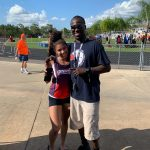 Girls 400m School Record Falls!