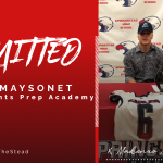 Makenxo Maysonet Signs with GA Knights Prep Academy