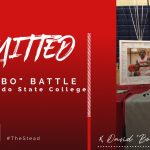 "David ""Bobo"" Battle Signs with Pasco-Hernando State College"