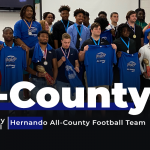 Inaugural Glory Days Grill Hernando All County Football Team