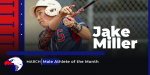 Jake Miller – March Male Athlete of the Month