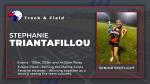 Spring Sport Senior Spotlight: Stephanie Triantafillou
