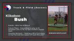 Spring Sport Senior Spotlight: Kiikaboo Bush