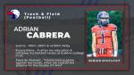 Spring Sport Senior Spotlight: Adrian Cabrera