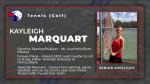 Spring Sport Senior Spotlight: Kayleigh Marquart
