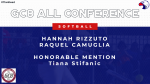 Rizzuto and Camuglia Named GC8 All-Conference