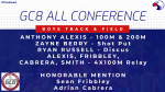 GC8 All Conference Boys Track & Field