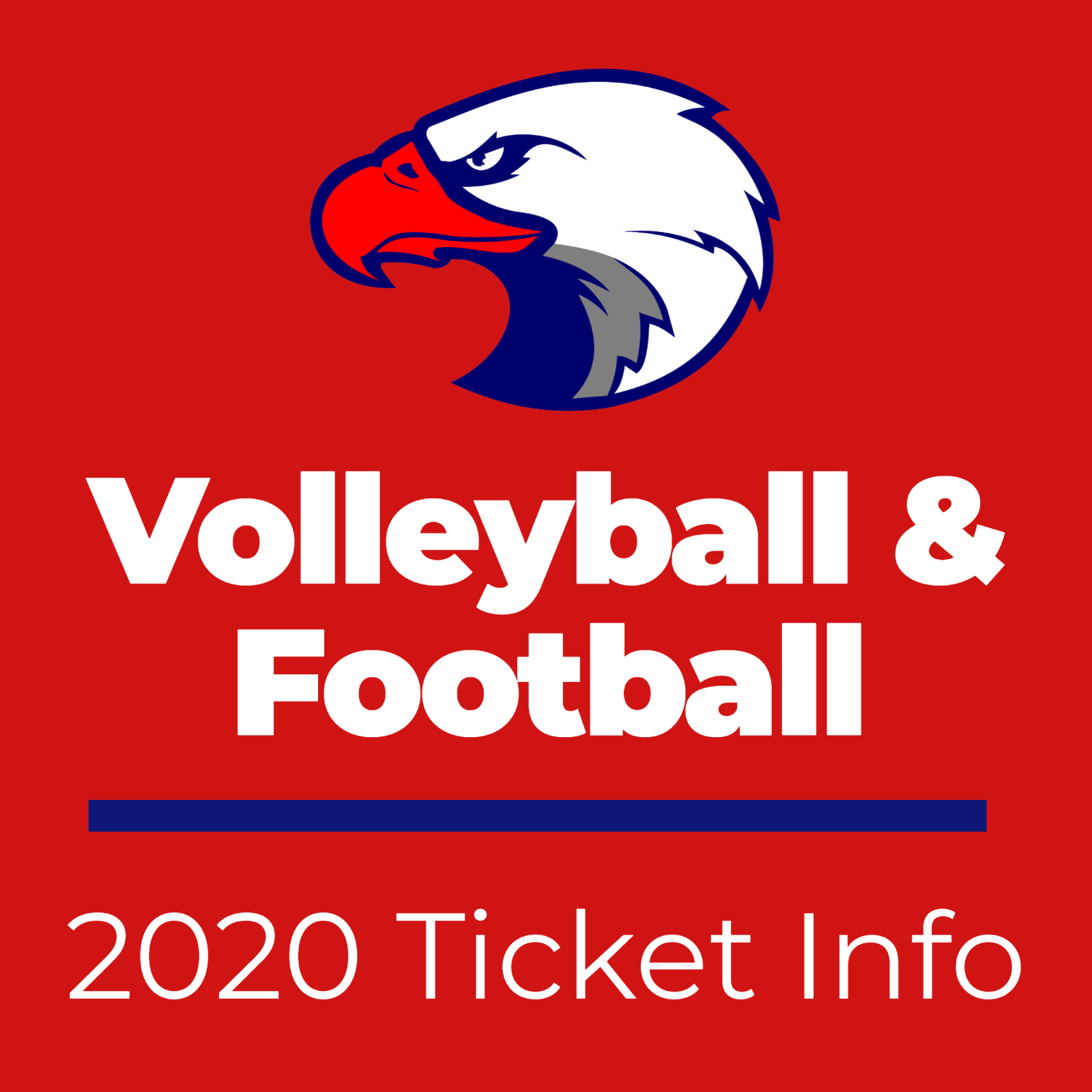 Volleyball and Football Ticket Info