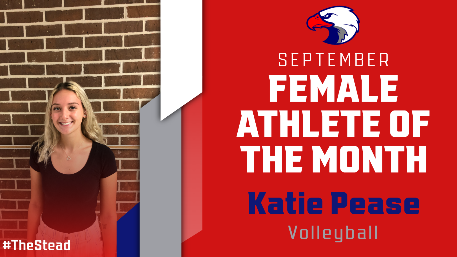 Katie Pease – September Female Athlete of the Month