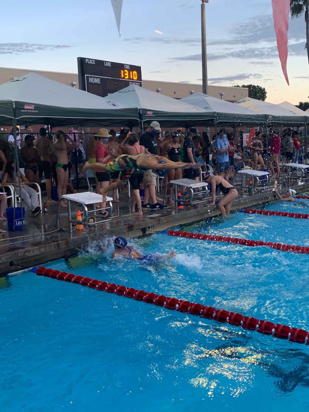 Eagles Swim Team Sending 12 to Regionals