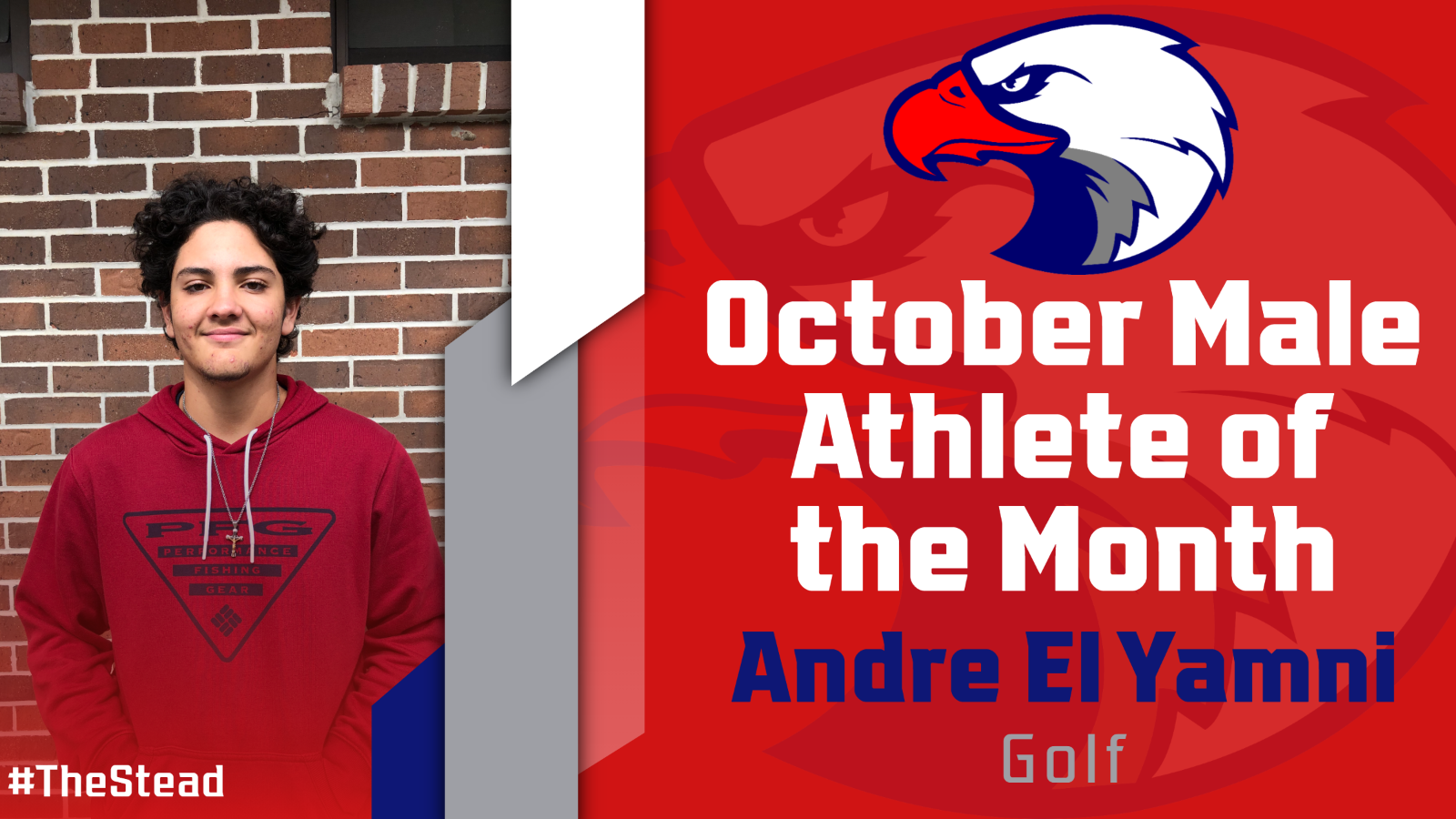 Andre El Yamani October Male Athlete of the Month