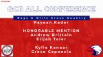 Kader Named GC8 All Conference