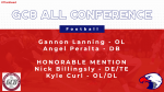 Lanning and Peralta Garner GC8 All Conference Honors