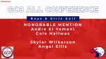 GC8 All-Conference Golf