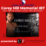Corey Hill Memorial IBT presented by Carter Foreman Attorneys At Law