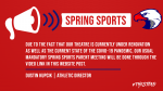 Mandatory Spring Sports Meeting – Video