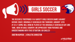 1/14 Girls Soccer vs Nature Coast – Back On!