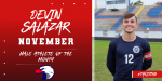Devin Salazar – November Male Athlete of the Month