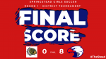 Girls Soccer Advances to District Semi with 8-0 Win Over Chamberlain