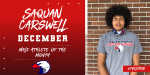 Saquan Carswell – December Male Athlete of the Month