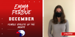 Emma Perdue – December Female Athlete of the Month
