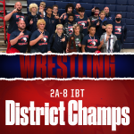 Wrestling Adds On to Their County Record, Wins 33rd District IBT Title