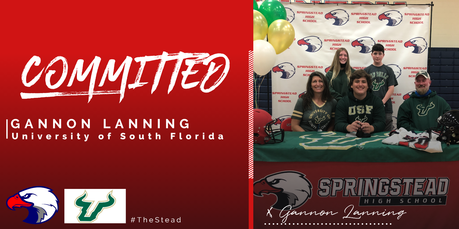 Lanning Inks With USF