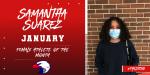 Samantha Suarez – January Female Athlete of the Month