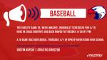 Baseball Schedule Updates