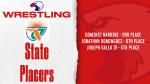 3 Wrestlers Medal At States