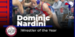 Nardini Earns GC8 Conference Wrestler of the Year