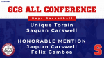 S. Carswell and U. Torain Garner GC8 All-Conference Honors