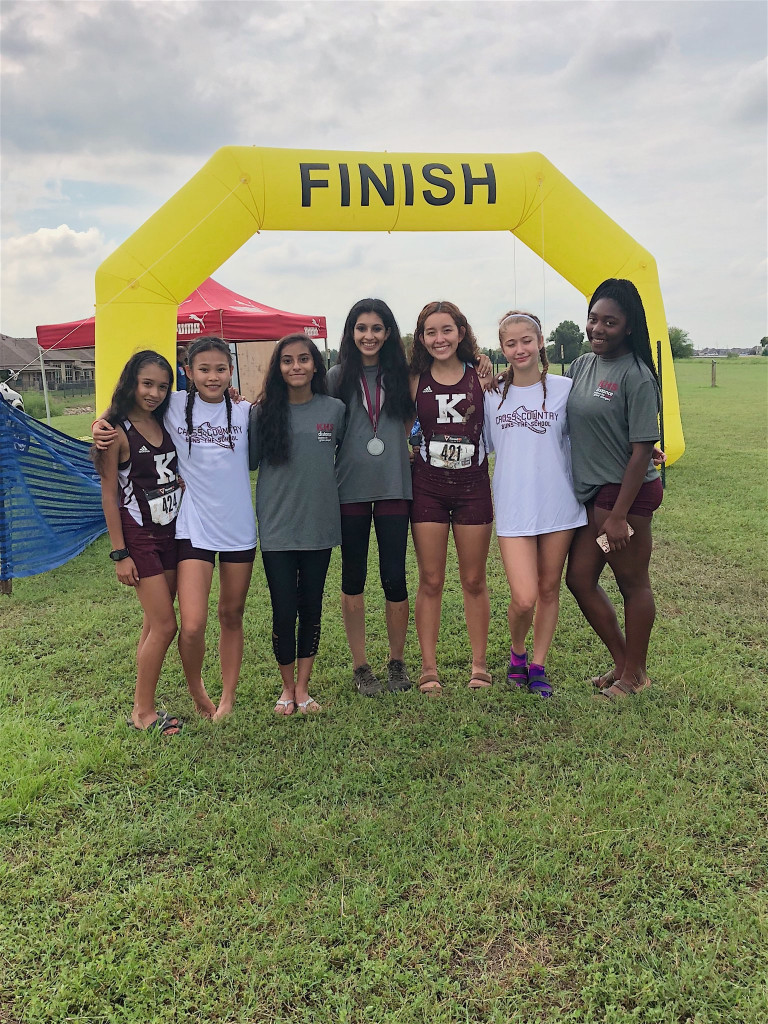 Cross country runners already heating up