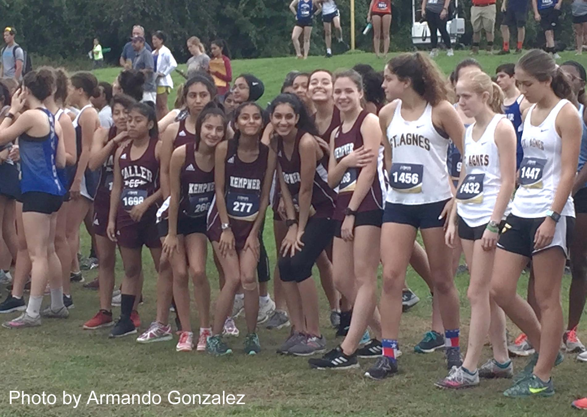 Girls cross country continues strong squad showing