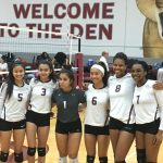 Girls Varsity Volleyball beats Clements 3 – 1
