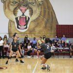 Varsity Volleyball vs Elkins-Dig Pink