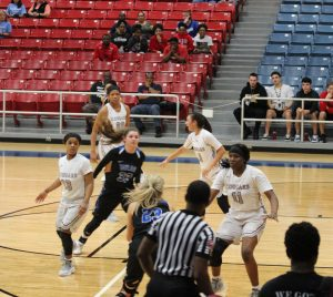 Lady Cougars defeat Katy Taylor to advance to second round of playoffs