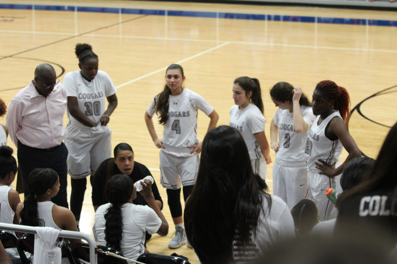 Lady Cougars fall to Westside's 3point storm.