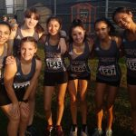 Girls Varsity Cross Country set new PRs at Seven Lakes XC Invitational