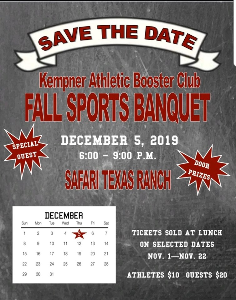 Fall Sports Banquet Tickets on sale online